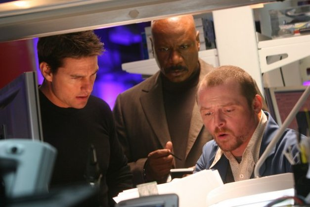 mission-impossible-3-tom cruise, ving rhames and simon pegg