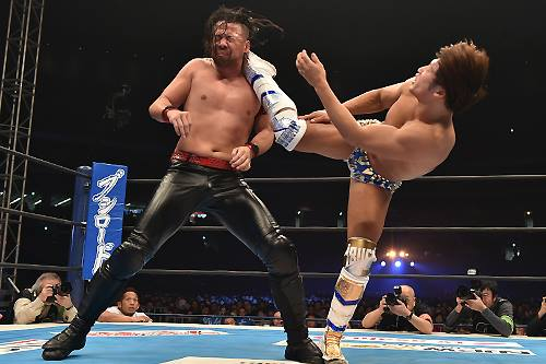 Nakamura vs Ibushi WrestleKingdom 9 2015