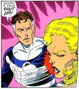 Reed Richards slaps Sue Storm