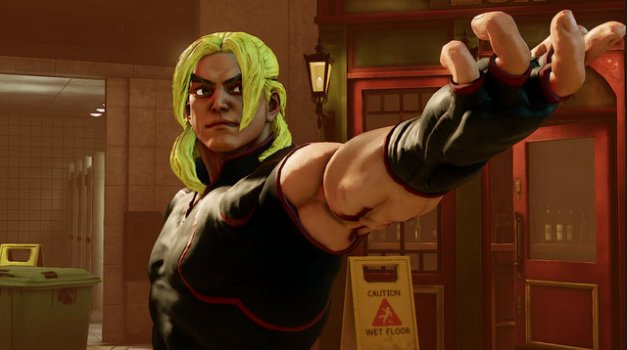 Street Fighter V - Ken posing