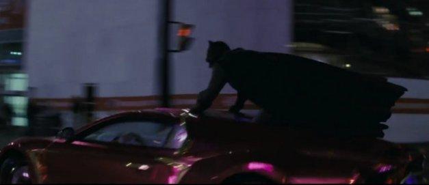 Suicide Squad - Comic-Con First -Batman on car