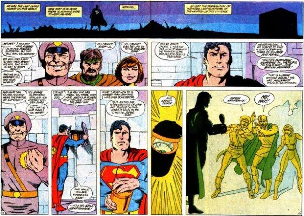 Superman kills Phantom Zone criminals