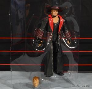 Wrestlemania 30 Undertaker Mattel - in plastic shell with Kane head