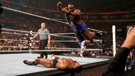 WWE Battleground - Big E splashes Darren Young