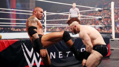 WWE Battleground - Randy Orton vs Sheamus