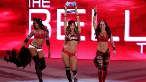WWE Battleground - Team Bella