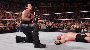 WWE Battleground - The Undertaker lays out Brock