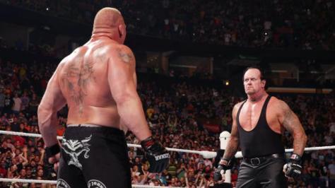 WWE Battleground - The Undertaker surprises Brock