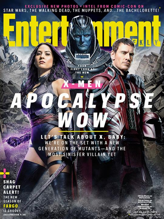 X-Men Apocalypse - Psylocke, Apocalypse and Magneto