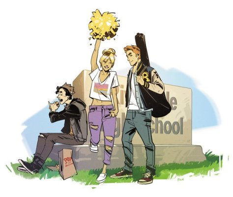 Archie Comics reboot - Jughead, Betty and Archie