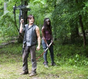 Daryl and Michonne Walking Dead