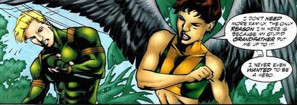 Hawkgirl JSA