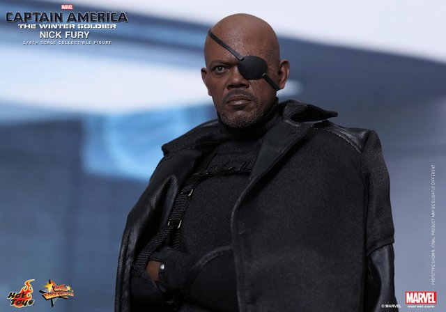 Nick Fury gets upgrade in Hot Toys Captain America: The Winter Soldier line