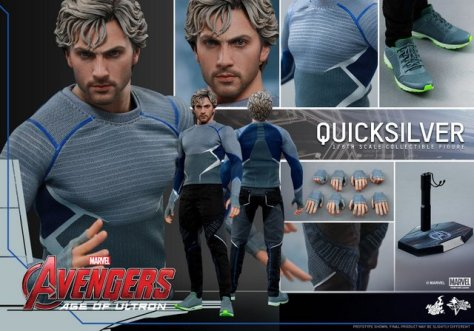 Hot Toys Quicksilver figure -collage