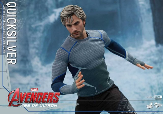 Quicksilver figure from Hot Toys Avengers: Age of Ultron line
