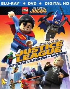 Justice League Attack of the Legion of Doom blu ray cover
