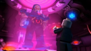 Justice League Attack of the Legion of Doom - Darkseid and Lex Luthor