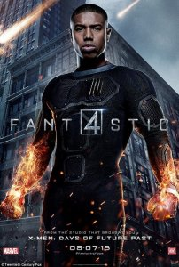 Michael B Jordan as Johnny Storm