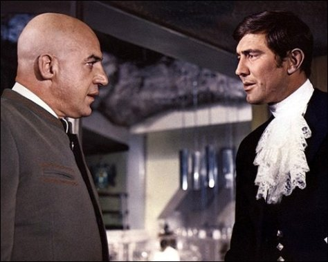 On Her Majesty's Secret Service - Blofeld and James Bond