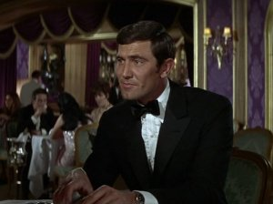 On Her Majesty's Secret Service - George Lazenby as James Bond