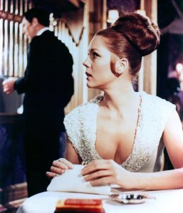 On Her Majesty's Secret Service - george-lazenby-diana-rigg
