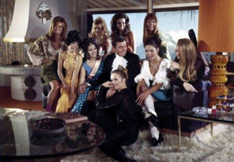 On Her Majesty's Secret Service - James Bond and the girls