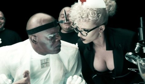 Samuel L Jackson and Scarlett_Johansson in The Spirit