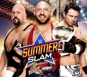 Summerslam 2015 - Big Show vs Ryback vs The Miz