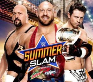 Summerslam 2015 - Big Show vs Ryback vs The Miz