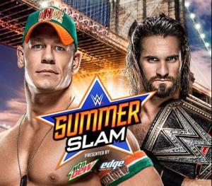 Summerslam 2015 - Cena vs Rollins