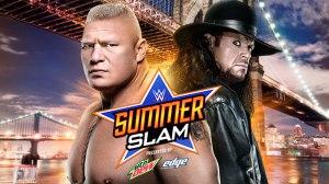 Summerslam 2015 - Lesnar vs Undertaker wide