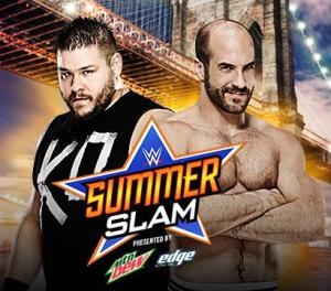Summerslam 2015 - Owens vs Cesaro