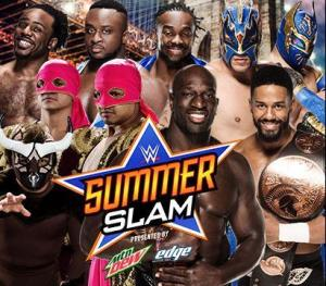 Summerslam 2015 - Tag Championship Fatal Four Way