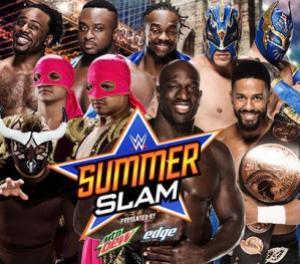 Summerslam 2015 - Tag Championship Fatal Four Way