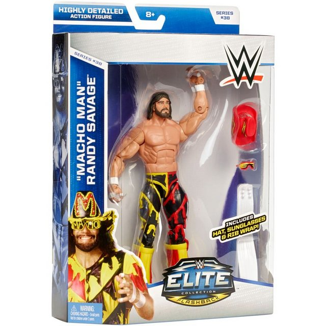 WWE Elite 38 in package and loose pics