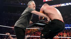 WWE Summerslam 2015 -John Stewart attacks Cena