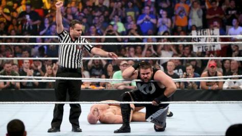 WWE Summerslam 2015 -Owens beats Cesaro