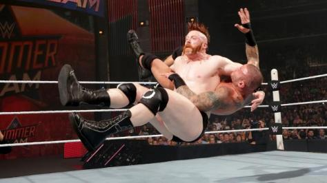 WWE Summerslam 2015 - Sheamus vs Randy Orton