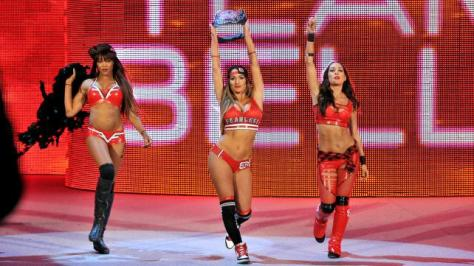 WWE Summerslam 2015 -Team Bella