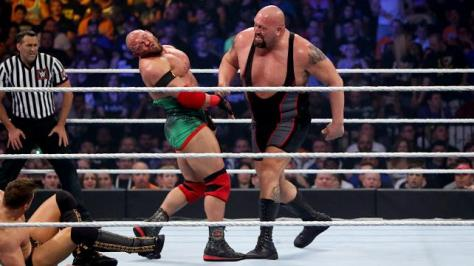 WWE Summerslam 2015 - The Miz vs Ryback vs Big Show