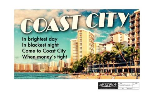 Arrow Coast City tweet