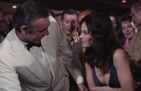 Diamonds Are Forever - James Bond and Plenty-O'Toole