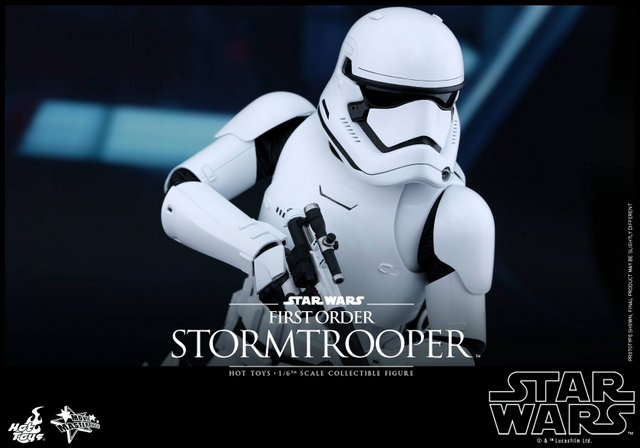 Star Wars Force Awakens Stormtroopers figures from Hot Toys
