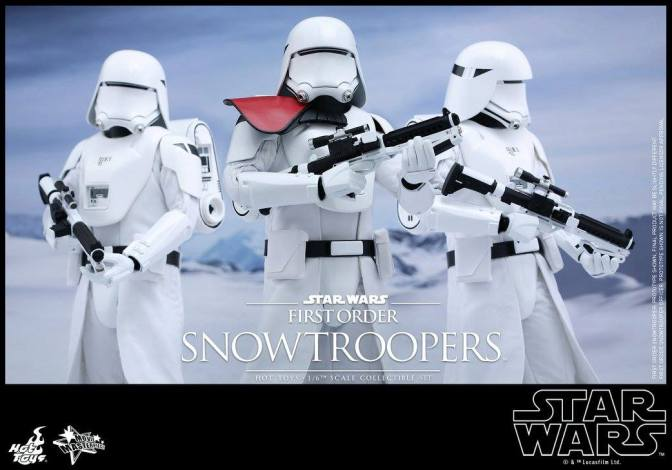 Hot Toys Star Wars Force Awakens debuts First Order Snowtroopers