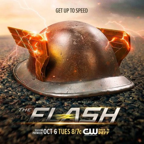 Jay Garrick teaser poster The Flash