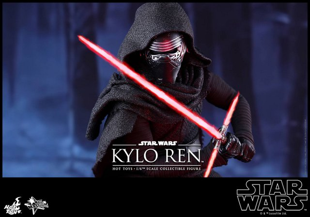 Force Awakens Kylo Ren figure from Hot Toys