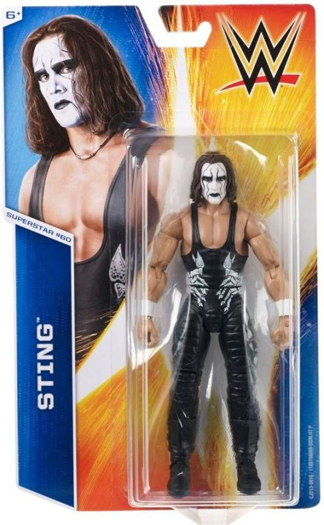 WWE Mattel Basic 55 - Sting