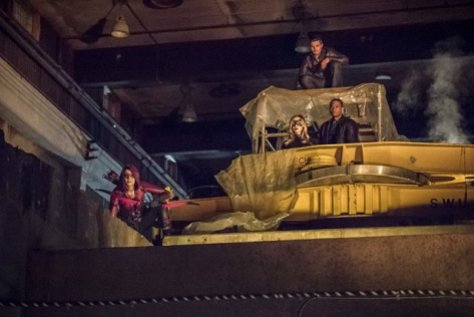 Arrow - Season 4 - Green Arrow - Thea, Black Canary, Oliver and Diggle