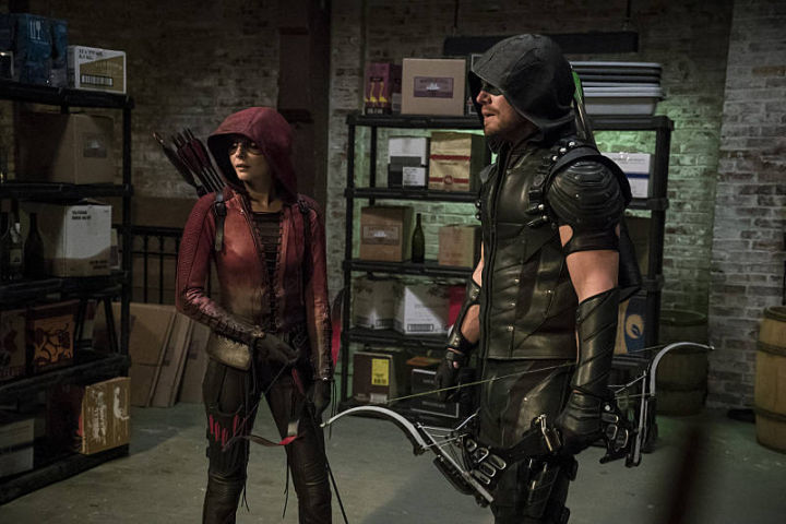 Arrow - The Candidate - Speedy and Green Arrow