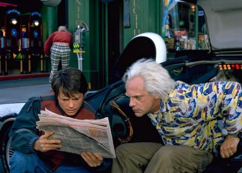 Back to the Future II - Biff, Marty and Doc Brown